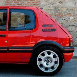 Placas laterales Peugeot 205 3 puertas
