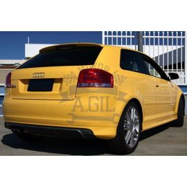 Spoiler/difusor trasero Audi A3 8P1 3puertas