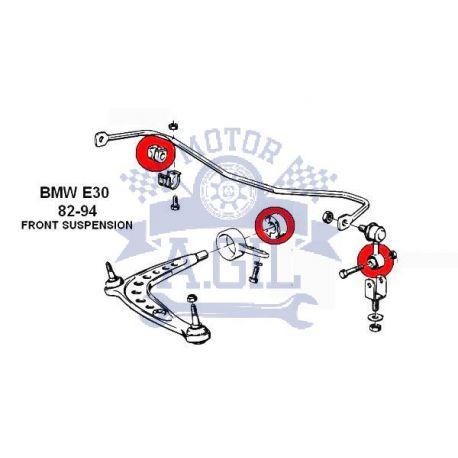 KIT SILENTBLOCKS BMW E30