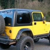 ALETINES ANCHOS JEEP WRANGLER TJ (1997-2006)  Aletines anchos (20cm) para Jeep Wrangler TJ (1997-2006) realizados en plástico ABS. #wrangler #tj #abs #jeep #4x4