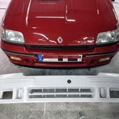 DEFENSA DELANTERA RENAULT CLIO  Defensa delantera para Renault Clio I (williams, 16s y 16v). Réplica exacta a la original fabricada en fibra de alta calidad con soportes. #clio #paragolpes #defensa #williams