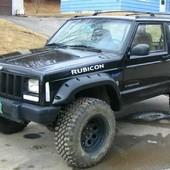 Para tu Jeep Cherokee XJ 3 o 5 puertas (220€) Aletines anchos (12cm) para Jeep Cherokee XJ 1984 - 2000 3 o 5 puertas realizados en plástico ABS. #jeepcherokee #jeepcherokeexj #fenderflare #abs