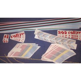 Pegatinas 205 Rallye