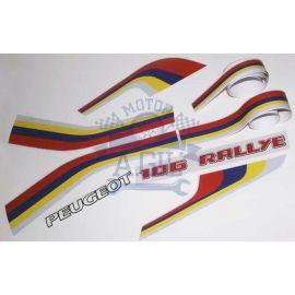 Pegatinas 106 Rallye