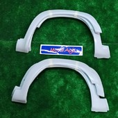 Aletines 205 Rallye  Juego de aletines para Peugeot 205 rallye, fabricados en fibra. Réplica exacta de los originales.