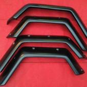 Aletines Anchos Mercedes G 12cm  Juego de aletines anchos (12cm) para Mercedes G klasa W460 W461 3 puertas, fabricados en plastico ABS.